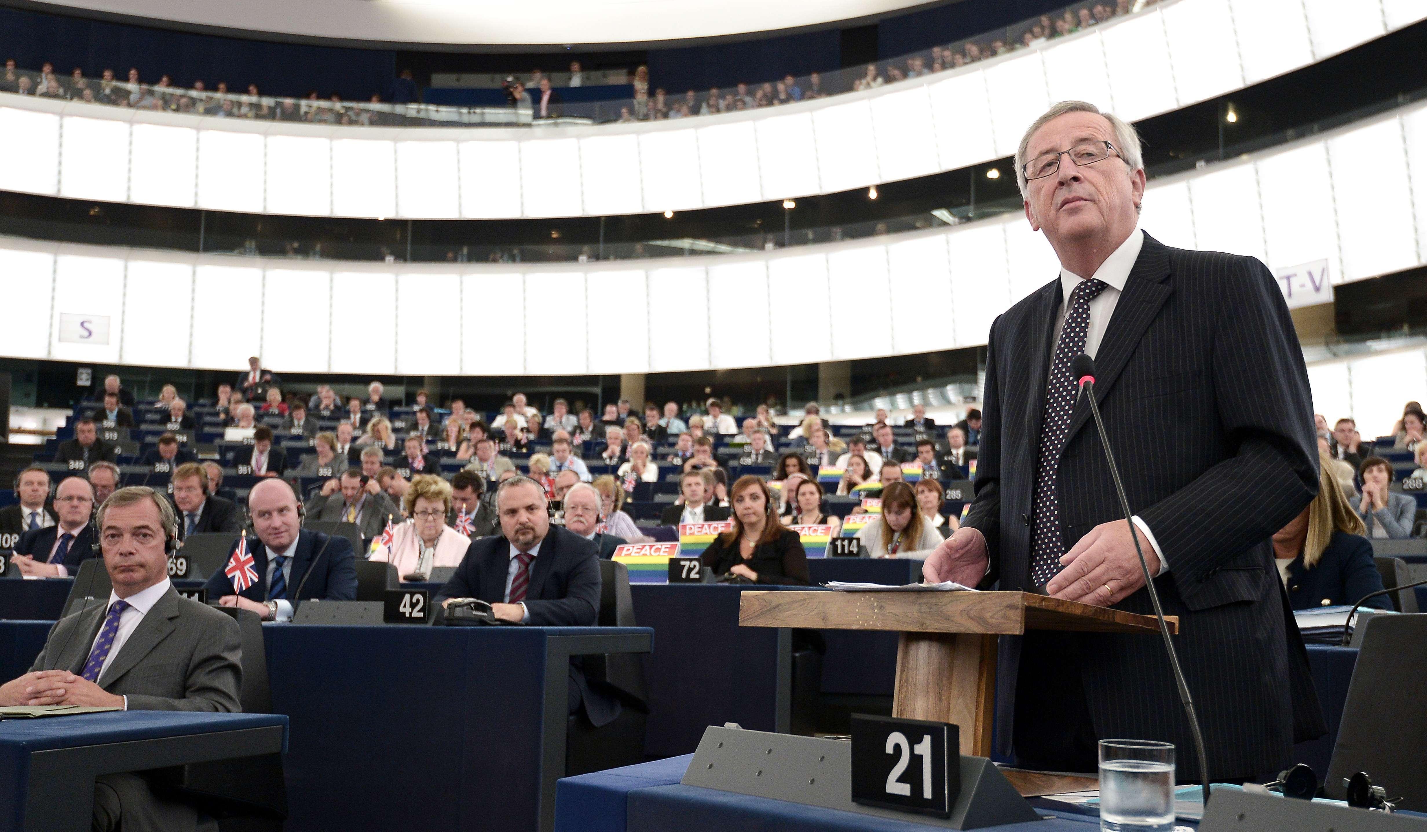 Jean-Claude Juncker, ales de Parlamentul European la preşedinţia Comisiei Europene - LIVE VIDEO