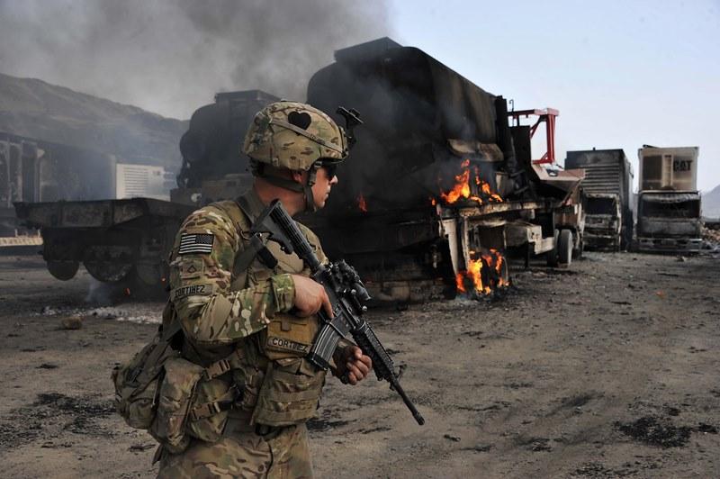 Atac armat terorist �n Afganistan: un GENERAL american a fost ucis si alti 15 militari raniti