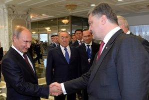 Putin şi Poroşenko au discutat la Minsk, dar fără să ajungă la vreun rezultat concret