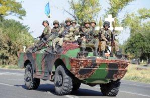 """Armata ucraineană anunţă că o coloană de blindate ruseşti înaintează în Ucraina. """"100 de vehicule, inclusiv tancuri, blindate, lansatoare multiple de rachete"""""""