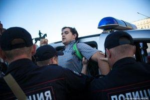 Singurul protestatar rus împotriva invadării Ucrainei, ARESTAT la Moscova