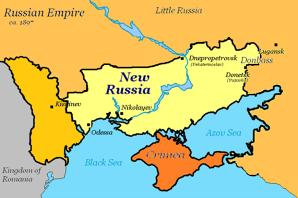 Ce planuri are Putin cu Ucraina şi cu Europa? Răspunsul e: NOVOROSSIYA