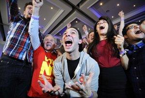 """Rezultatele referendumului din Scoţia: Alegătorii au spus """"NU"""" INDEPENDENŢEI de Regatul Unit. Prima reacţie a lui David Cameron"""