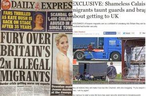Tabloidele britanice lovesc din nou şi anunţă o nouă invazie de imigranţi. Acum, sunt două milioane!