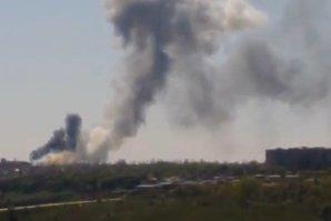 Explozii puternice într-o uzină de armament din Doneţk aflată sub controlul insurgenţilor proruşi