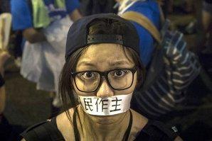 GALERIE FOTO. Cele mai impresionante imagini ale protestelor din Hong Kong