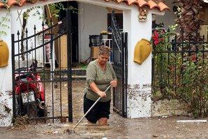 Grecia, afectată de inundaţii şi rafale puternice de vânt