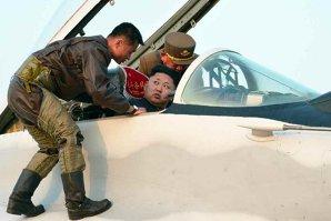 Kim Jong Un, surprins în carlinga unui avion de vânătoare de producţie rusească. Ce ar fi făcut înainte de acest moment