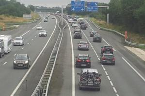 Un şofer beat a parcurs 50 de kilometri pe contrasens pe autostradă, în Franţa