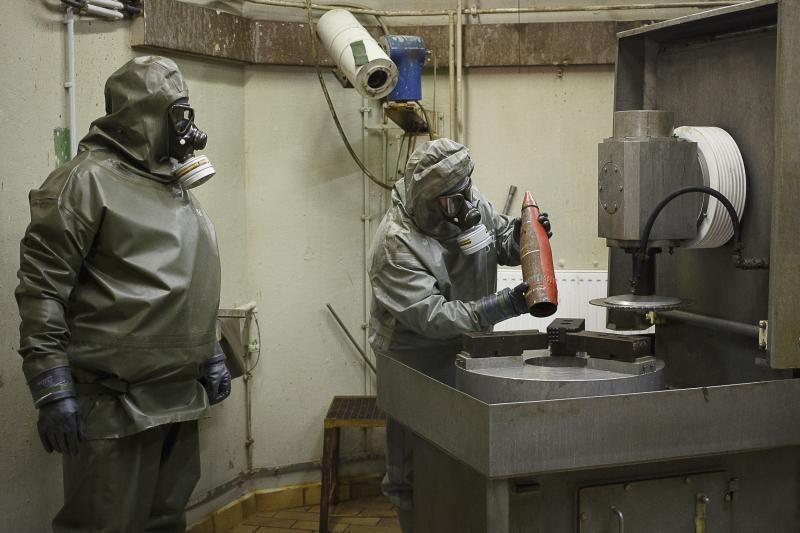 Firme germane ar fi ajutat Siria sa-si faca arsenalul de arme chimice