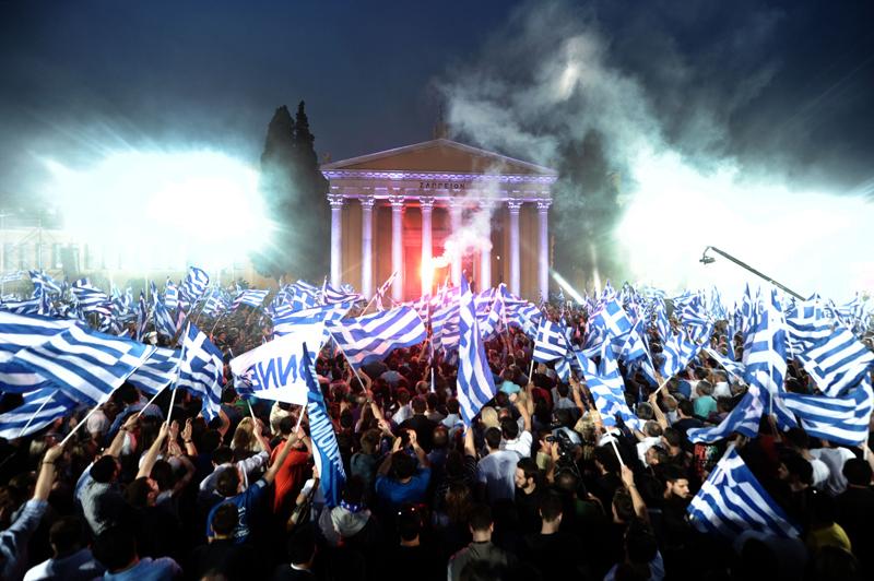 Grecia ar putea abandona politicile de austeritate �n urma alegerilor de duminica