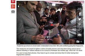 Măsuri drastice împotriva TERORISMULUI în Pakistan. Ce condiţii li se pun utilizatorilor de telefoane mobile