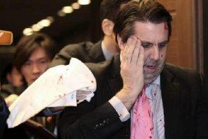 Ambasadorul american în Coreea de Sud a fost atacat şi tăiat cu o lamă de ras