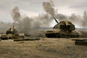 Rusia începe exerciţii militare la scară largă în teritorii disputate de la frontiere