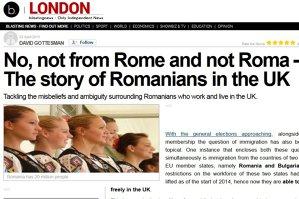 """Presa britanică începe să afle cine sunt, de fapt, românii: """"Nu, nu sunt romi şi nici din Roma"""". O româncă din Anglia pentru CNN: """"Îmi plătesc taxele, cheltuiesc bani aici şi niciodată nu am cerut ajutor social de la stat"""""""