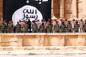 Statul Islamic a difuzat o înregistrare video a unei execuţii în masă în oraşul antic Palmira din Siria