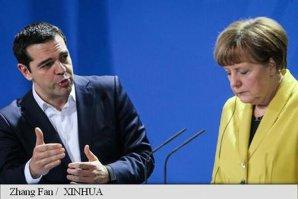 Alexis Tsipras şi Angela Merkel au căzut la înţelegere. Ce se va întâmpla în cursul zilei de marţi