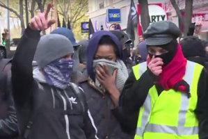 Aproximativ o sută de persoane au fost arestate la Paris după confruntări cu poliţia