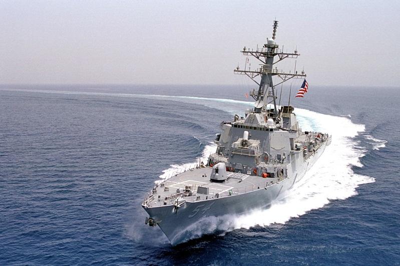 Tensiuni în Marea Chinei de Sud. Un distrugător american, trimis în zonă