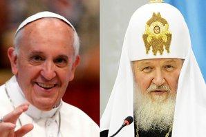 """Papa Francisc se întâlneşte cu """"patriarhul lui Putin"""" în Cuba"""