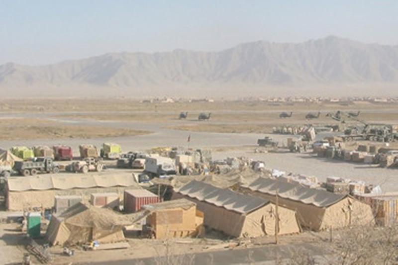 O rachetă a lovit baza românească din Kandahar