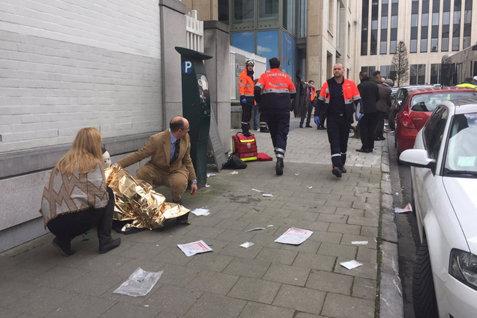 """""""Vinovatul"""" identificat de Rusia în urma atentatelor de la Bruxelles"""