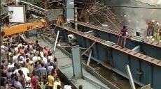 Cel puţin zece morţi în India, după prăbuşirea unui pod în construcţie