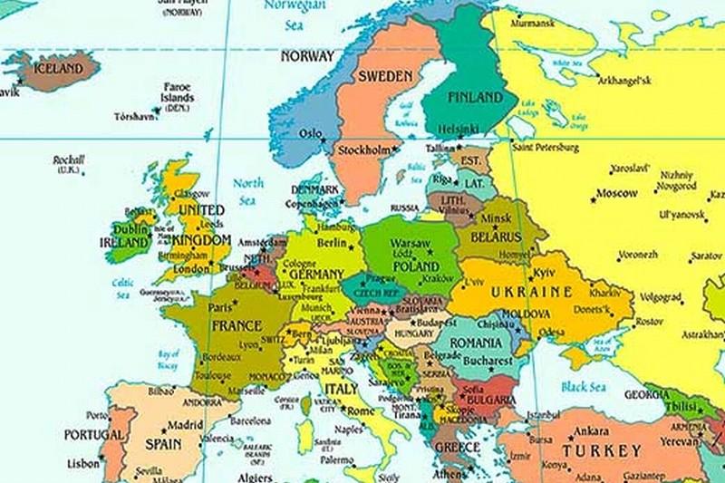 Harta Harta Europei In Romana