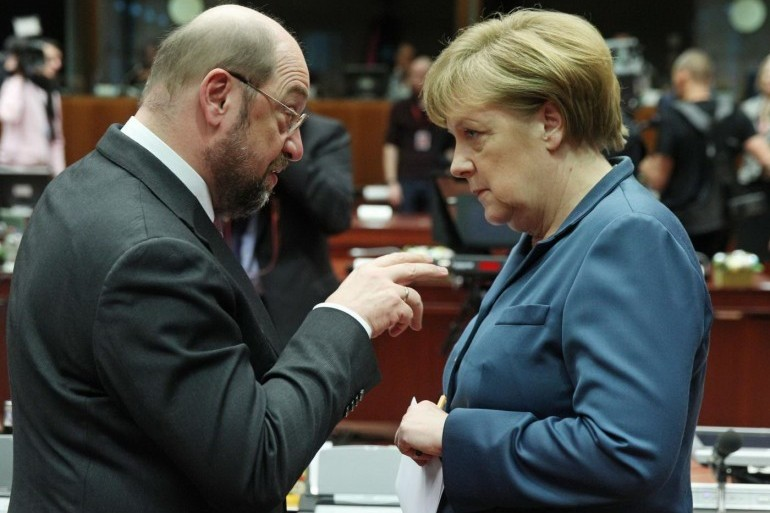 Martin Schulz, desemnat cu 100% din voturi drept contracandidat al Angelei Merkel pentru postul de cancelar al Germaniei