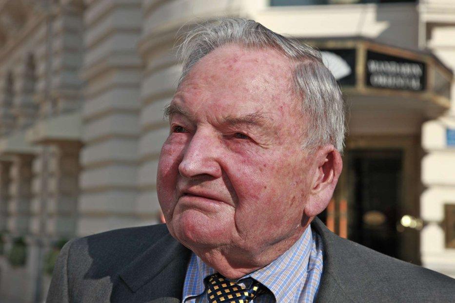 A murit un miliardar cu nume legendar: David Rockefeller avea 101 ani