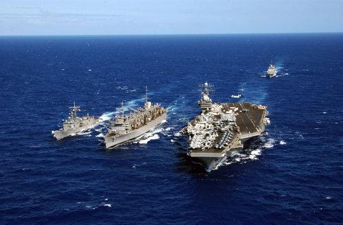Răsturnare de situaţie. Unde a ajuns portavionul trimis de SUA lângă Coreea
