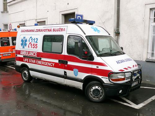 Accident grav în Slovacia: 40 de maşini au fost implicate