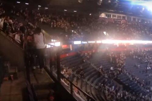 Momentul exploziei de pe Manchester Arena şi haosul care a urmat. VIDEO