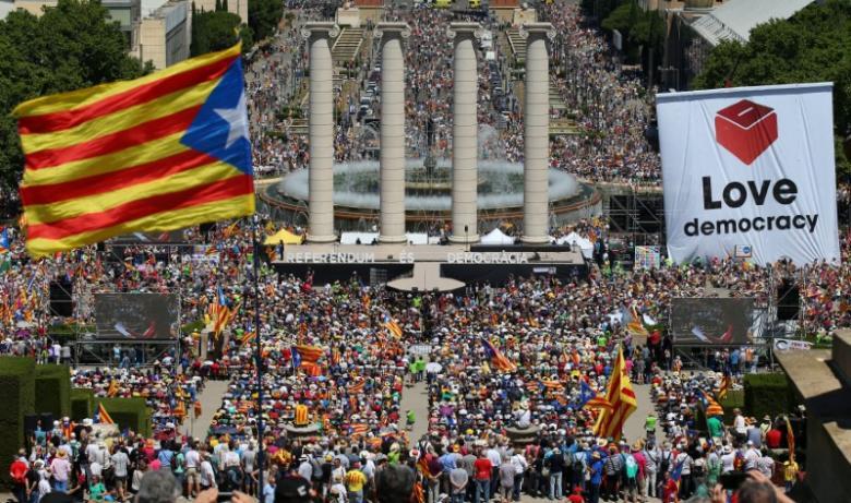 """Catalonia, la un pas de independenţa faţă de Spania: Ne vom separa """"imediat"""" ce rezultatul referendumului va fi pozitiv"""