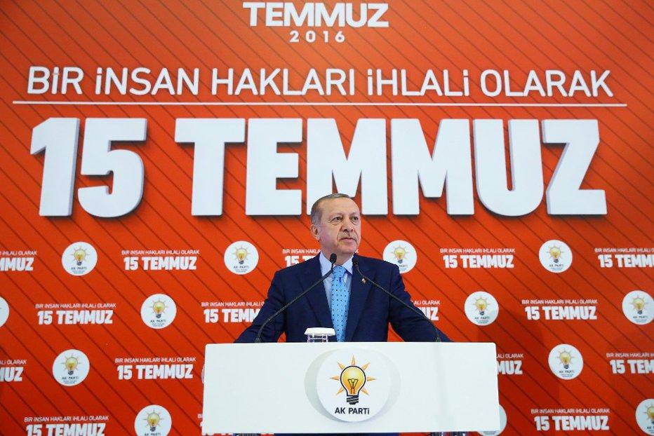 "Republica epurată Turcia, la un an de la ""lovitura de stat"" anti-Erdogan"