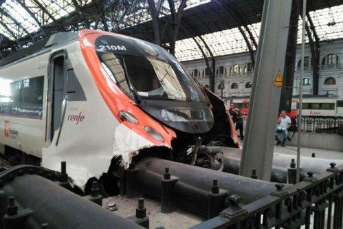 Accident feroviar grav în Barcelona. Un român printre cei peste 50 de răniţi. VIDEO UPDATE