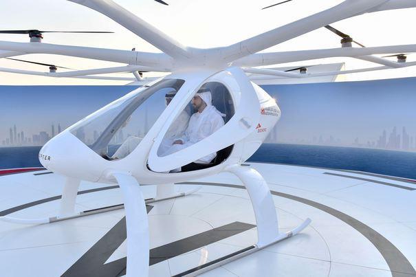 Cum arată prima linie de taxi aerian din lume. Invenţia care va revoluţiona transportul urban