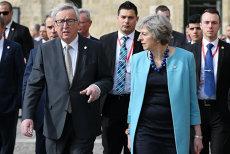 """Juncker,  ironic înainte de întâlnirea cu Theresa May: """"Veţi primi apoi raportul autopsiei"""
