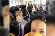 VIDEO. Un avion cade în gol 6.000 de metri. Pasagerii şi-au luat adio unii de la alţii şi de la rude şi prieteni. Cel mai tare plângea echipajul avionului