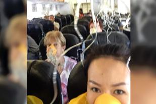 VIDEO. Un avion CADE ÎN GOL 6.000 de metri. Pasagerii şi-au luat ADIO!  Cel mai tare PLÂNGEA şi ŢIPA echipajul avionului