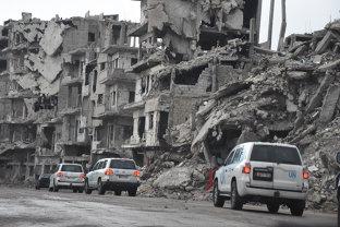 """Rusia acuză SUA că au """"şters de pe faţa pământului"""" oraşul Raqqa"""