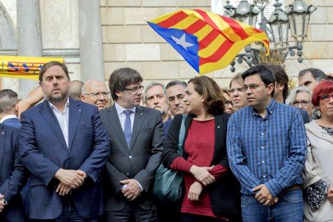 Liderii Cataloniei, acuzaţi de rebeliune. Unde se afla Puigdemont când procurorul general al Spaniei a făcut anunţul