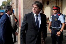 Carles Puigdemont şi alţi patru lideri catalani, care s-au predat poliţiei din Bruxelles, au fost ELIBERAŢI după 10 ore de audieri. UPDATE