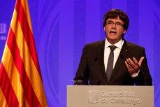 """Puigdemont acuză UE că susţine """"lovitura de stat"""" împotriva Cataloniei: Nu voi renunţa niciodată la acest ideal"""
