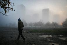 Oraşul în care toate şcolile au fost închise din cauza poluării. Toxicitatea aerului e echivalentă cu fumatul a 50 de ţigări pe zi