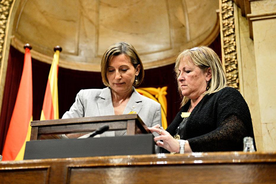 Motivul pentru care procurorul de stat spaniol cere arestarea preşedintelui Parlamentului catalan