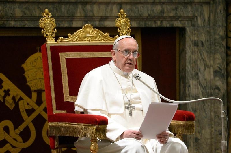 """Avertismentul dur al Papei la adresa liderilor lumii. Suveranul Pontif, despre situaţia actuală pe plan internaţional: """"Relaţiile internaţionale nu pot fi ţinute ostatice"""""""