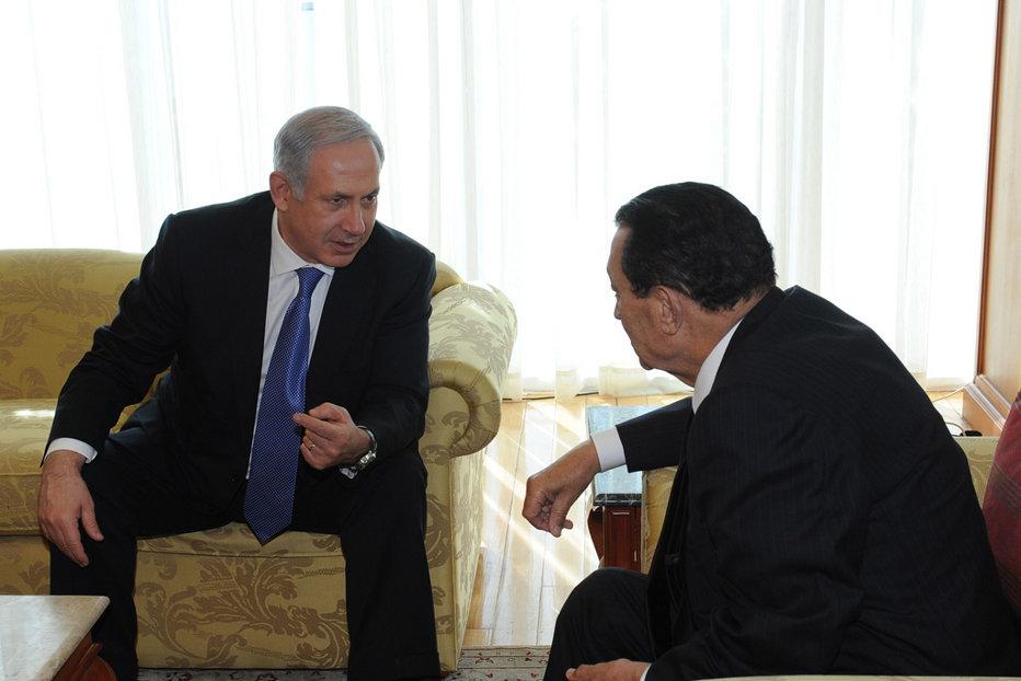 Fostul preşedinte Mubarak, dezvăluire scandaloasă: Netanyahu mi-a propus în 2010 să primesc palestinieni în nordul Egiptului