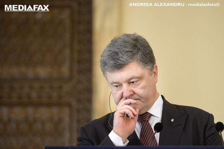 Petro Poroşenko promite referendumuri pe tema aderării Ucrainei la UE şi la NATO. Ultimele sondaje de opinie nu sunt chiar favorabile