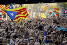 Peste 45.000 de oameni au manifestat la Bruxelles pentru independenţa Cataloniei